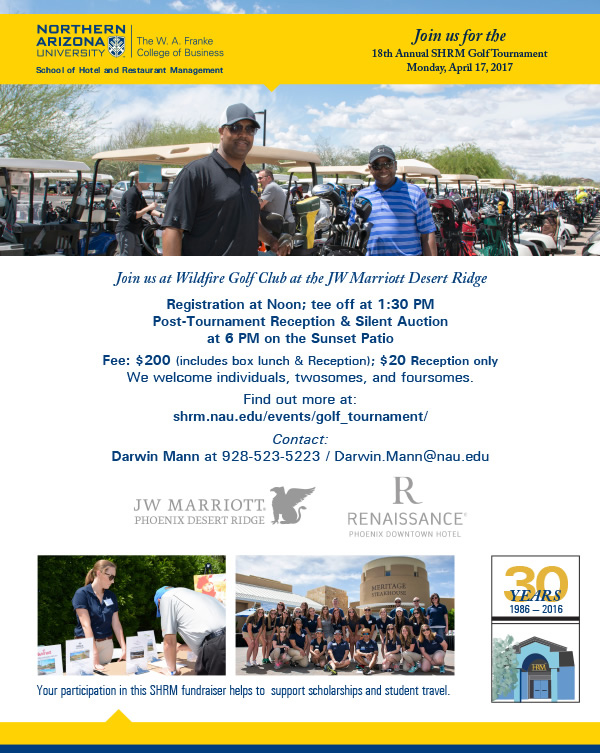 18th Annual SHRM Golf Tournament